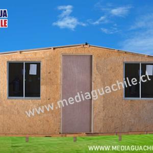 MEDIAGUA DE OSB FORRADA 18 M2 3X6